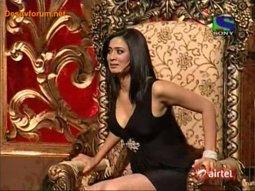 Shweta Tiwari Hot Pics in Black Dress