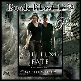 Shifting Fate by Melissa Wright Book Blast