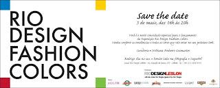 CONVITE+FASHION+COLORS Rio Design Fashion Colors