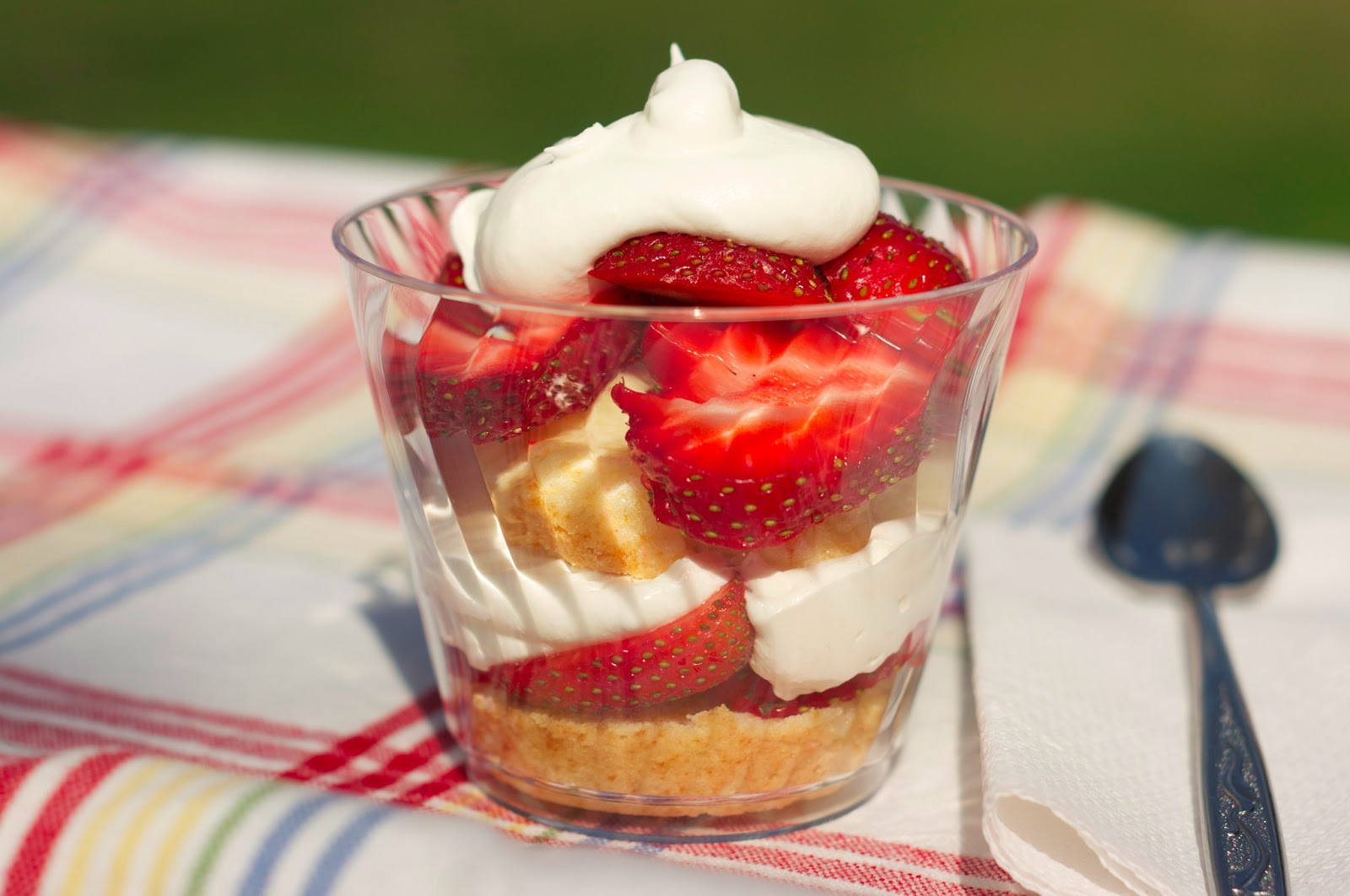 Dairy Free Strawberry Short Cake