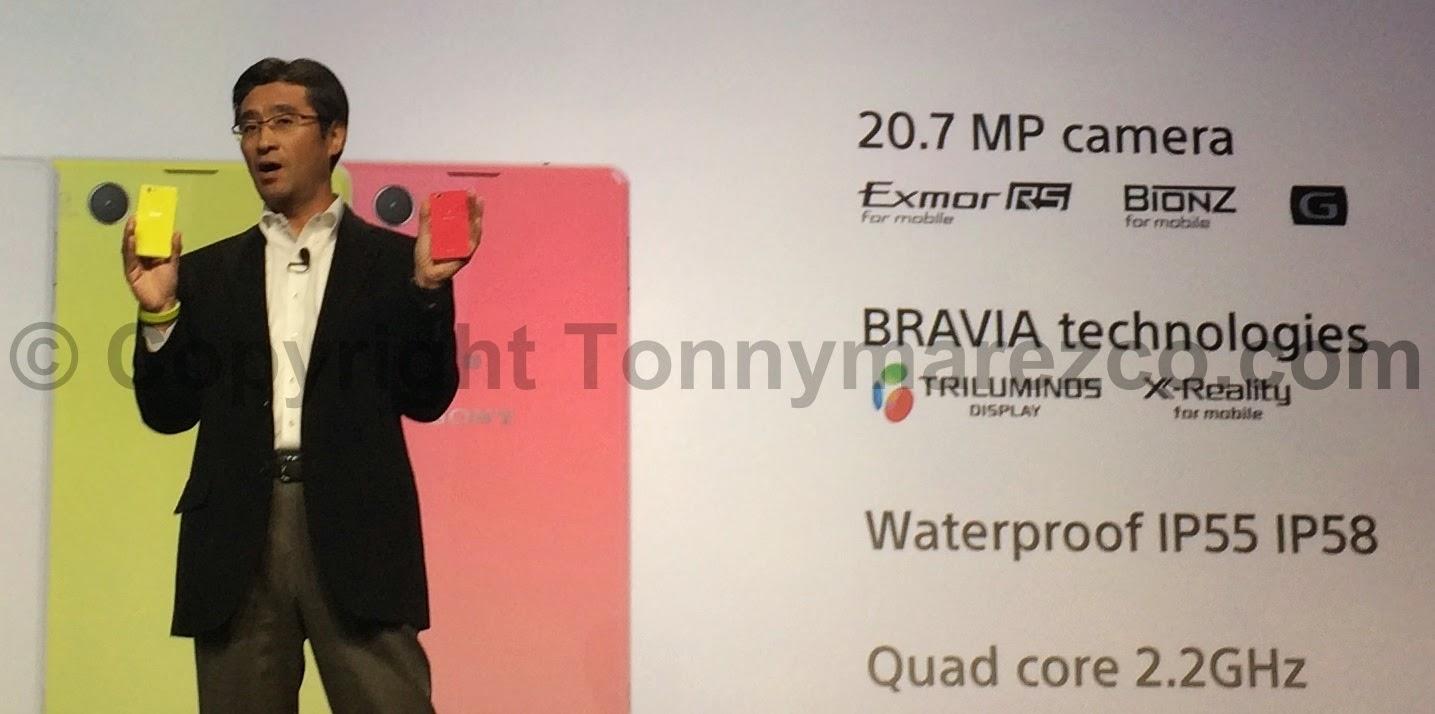 Harga dan Spesifikasi Lengkap Sony Xperia Z1 compact Terbaru