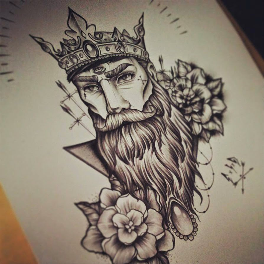 Beardman-Zentangle
