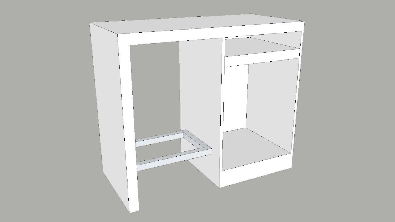 Mueble recubierto de formica. Formica laminate furniture. | El ...