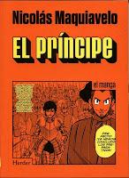 El principe,Nicolas Maquiavelo,  Manga,Herder  tienda de comics en México distrito federal, venta de comics en México df