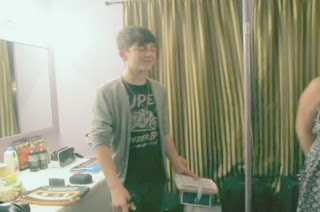 Greyson Chance 2012 Webster Hall New York Dressing Room