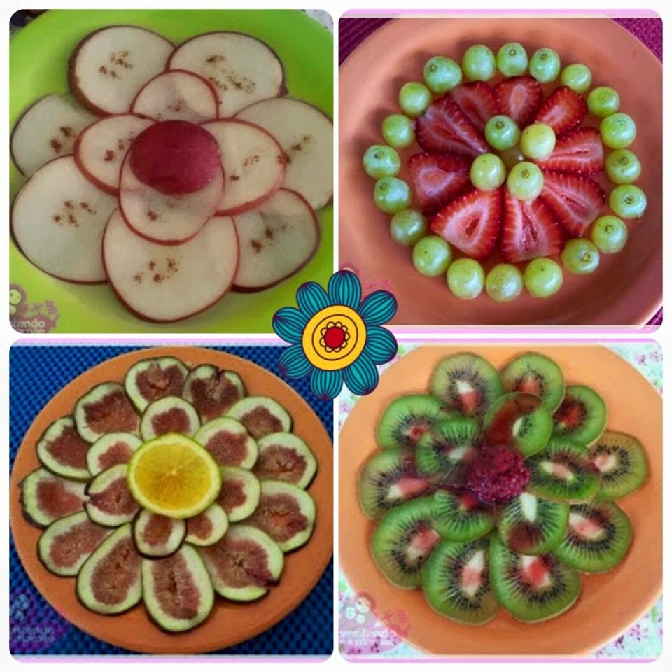 Lanche Divertido - Flores de Frutas
