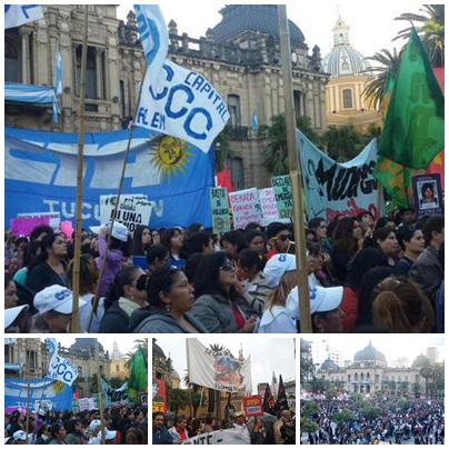 En Tucumán también decimos #NIUNAMENOS