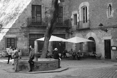 Sant Felip Neri Square in Barcelona Gothic Quarter