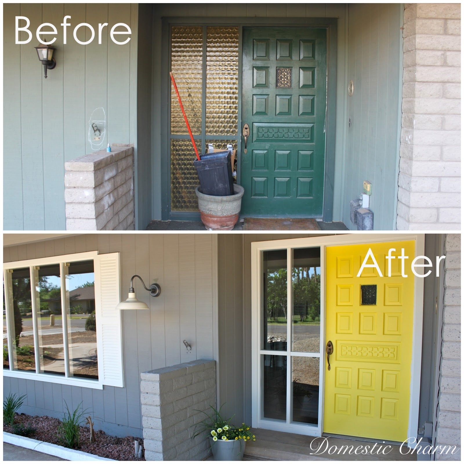 Exterior Remodel Before And After Remodeling A