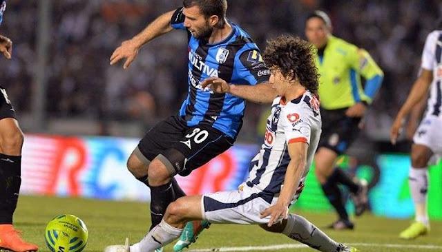 Ver partido Queretaro vs Monterrey en vivo