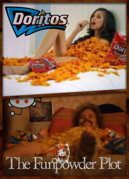 Doritos vs. The Funpowder Plot vs. Reddit vs. Reddit