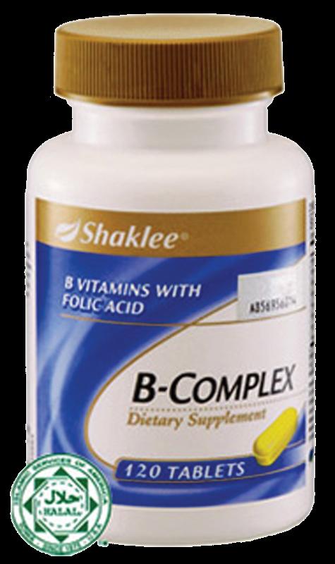b complex shaklee membantu mengawal stress