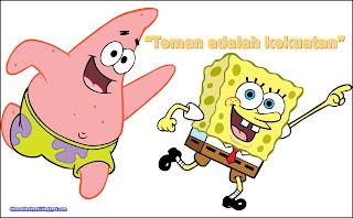 Kata Kata Persahabatan Di Kutip Dari Film Spongebob Jdsk