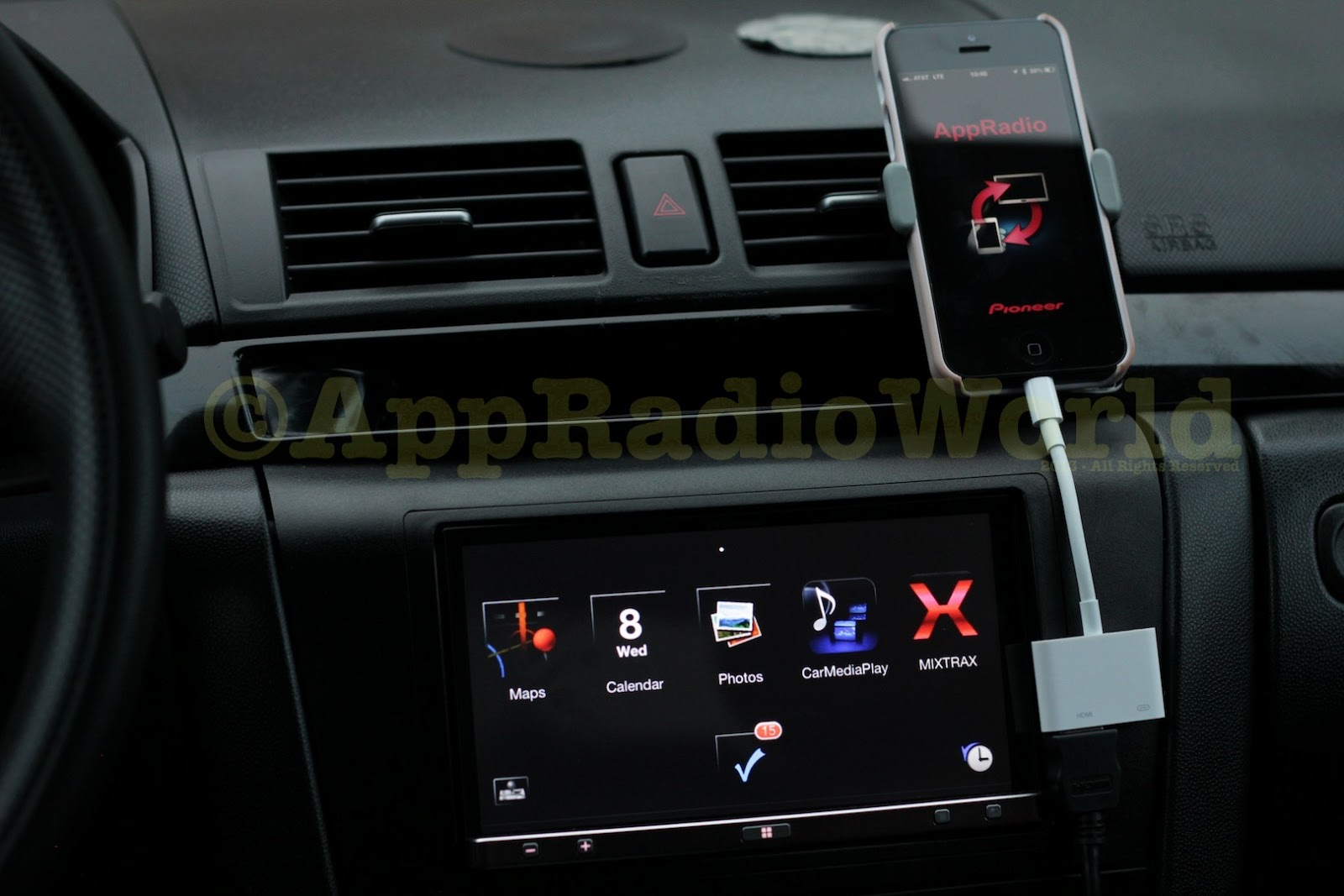 Appradioworld Apple Carplay Android Auto Car Technology News Pioneer Audio Future Phone Connections To Stereos Wont Require Cable Adapter Kits