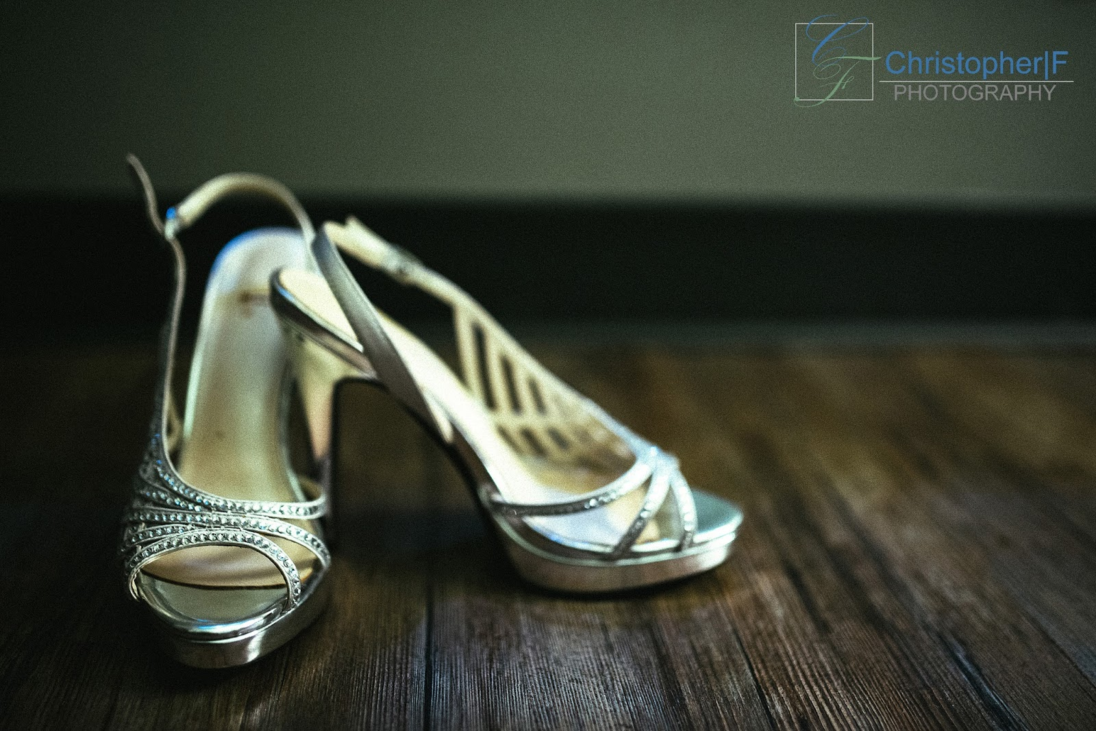 Chicago Wedding Getting Ready Shoes Photo