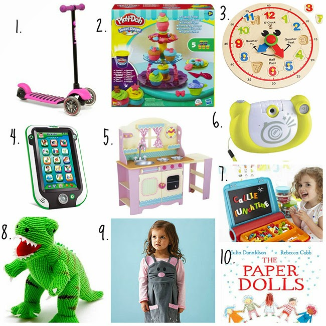 Great gift ideas for three year olds