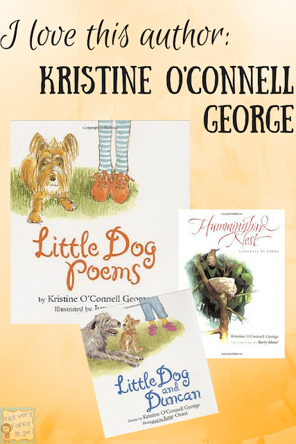 Kristine O'Connell George is one of my favorite authors of children's poetry.