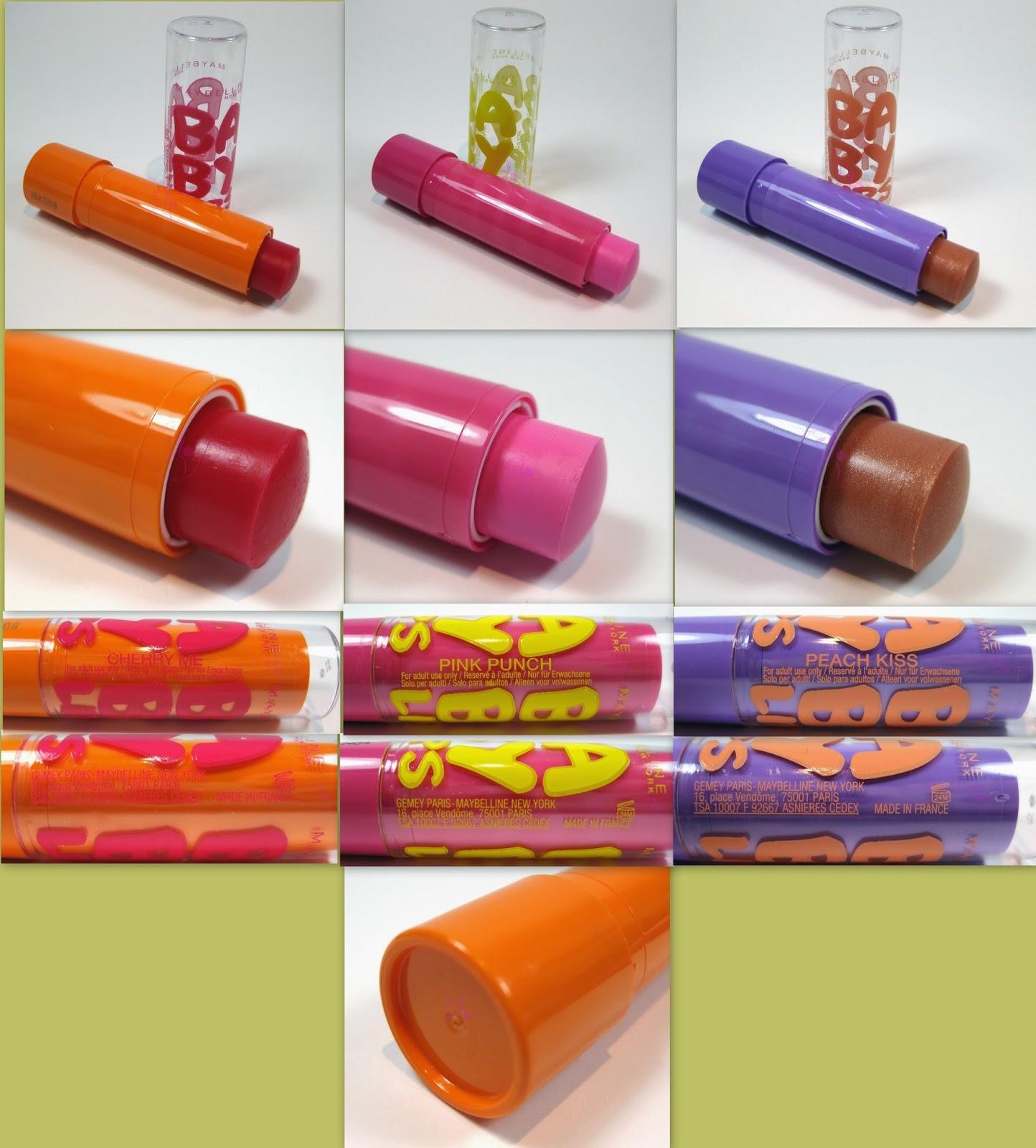 Maybelline - Baby Lips n° 04, 05, 06 - i colorati - descrizione