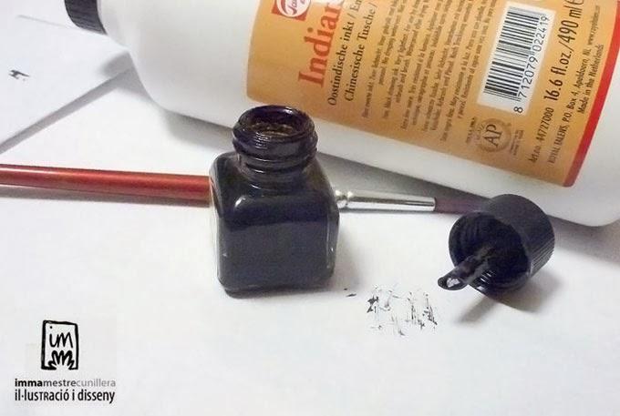 taca de tinta xina