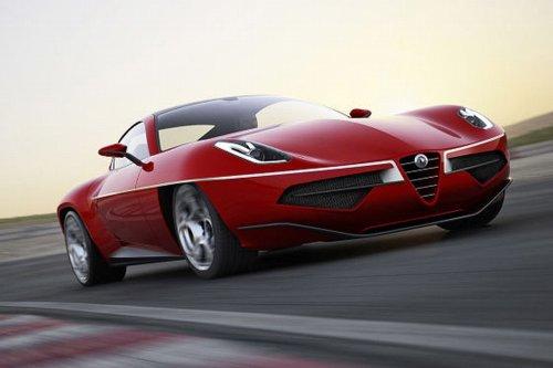 Sophisticated Cars Alfa Romeo Disco Volante Touring Concept 2012