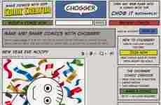 Chogger: permite crear cómics e historietas online en forma simple y gratuita