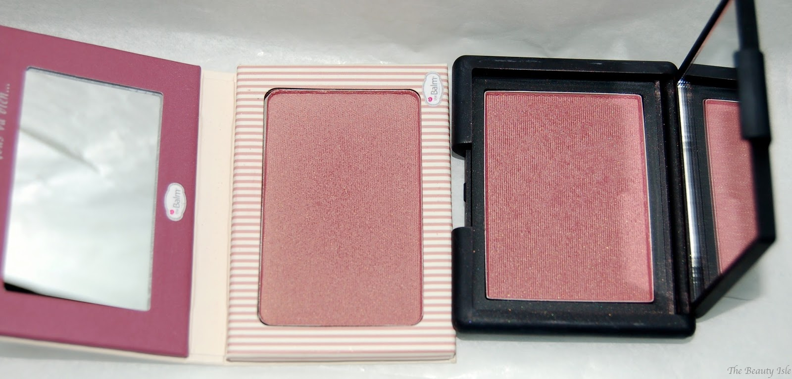 Two Shades of Plum...Blushes! NARS Blush in Sin & theBalm ...