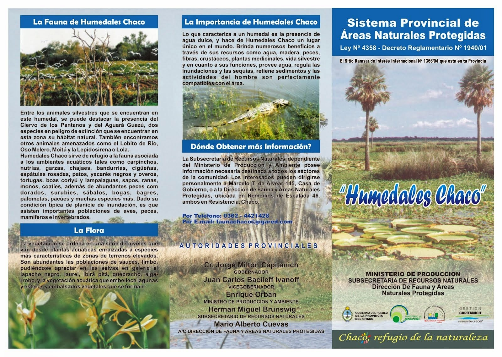 Argentina Humedales Sitios Ramsar Humedales Chaco 9