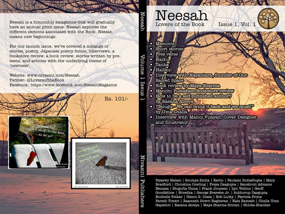 Launch of Neesah, an Eclectic Arts magazine from Hyderabad