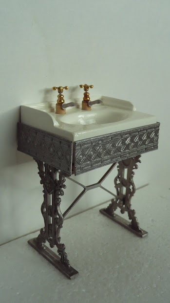 Bathroom Sink and Dressing Table