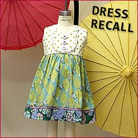 Dress recall