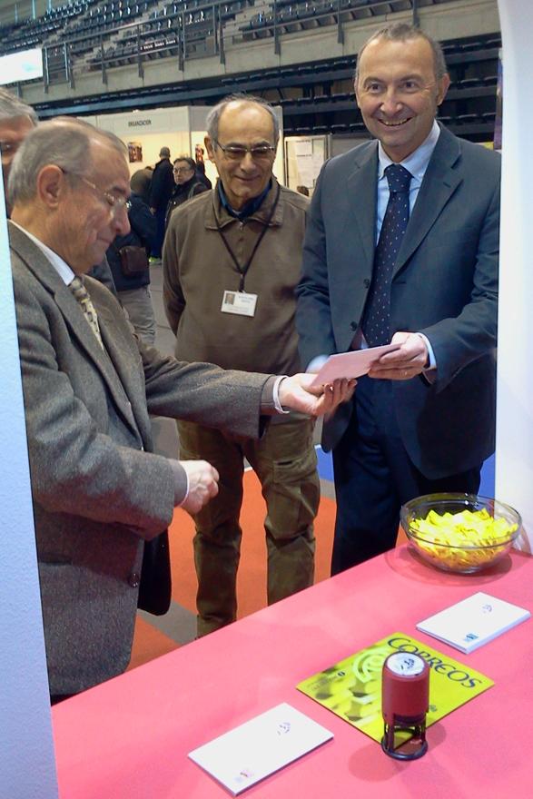 EXFILNA 2015 Avilés: El cónsul italiano en el matasellos de Dante