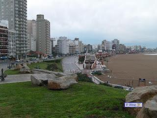 Mar del Plata - Edificios en la costa