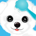 Pet Beauty Salon App iTunes App Icon Logo By Ninjafish Studios - FreeApps.ws