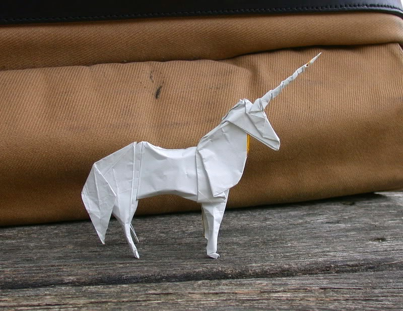 make origami unicorn easy paper craft for kids