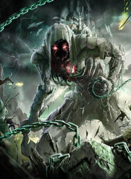 vincent ptitvinc deviantart ilustrações artes conceituais fantasia futurista robôs tecnologia Colosso mortal
