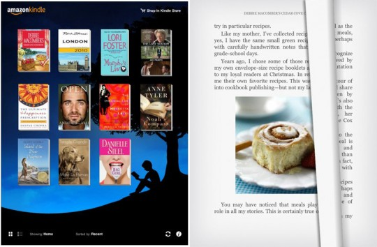 Background Kindle2
