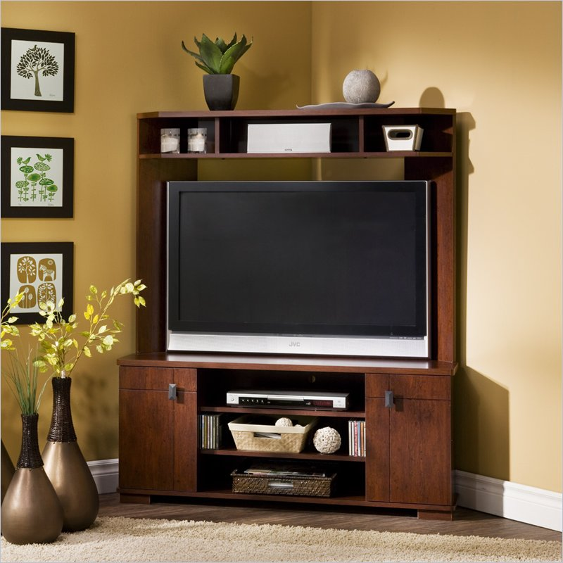 Corner tv furniture designs an interior design for Tv furniture