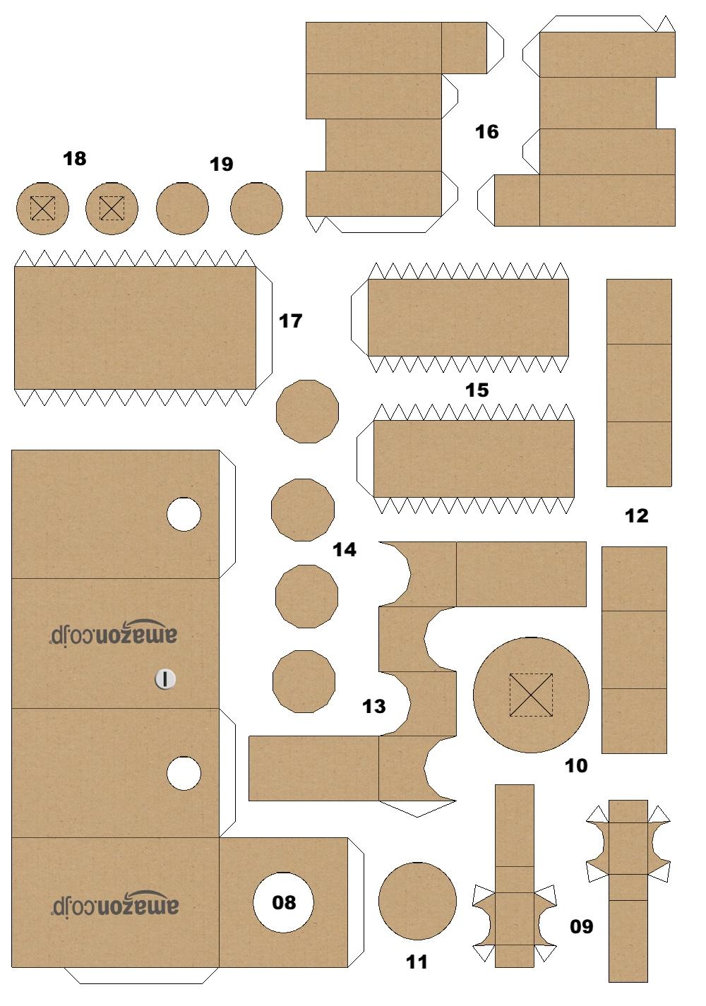 Danbo Papercraft