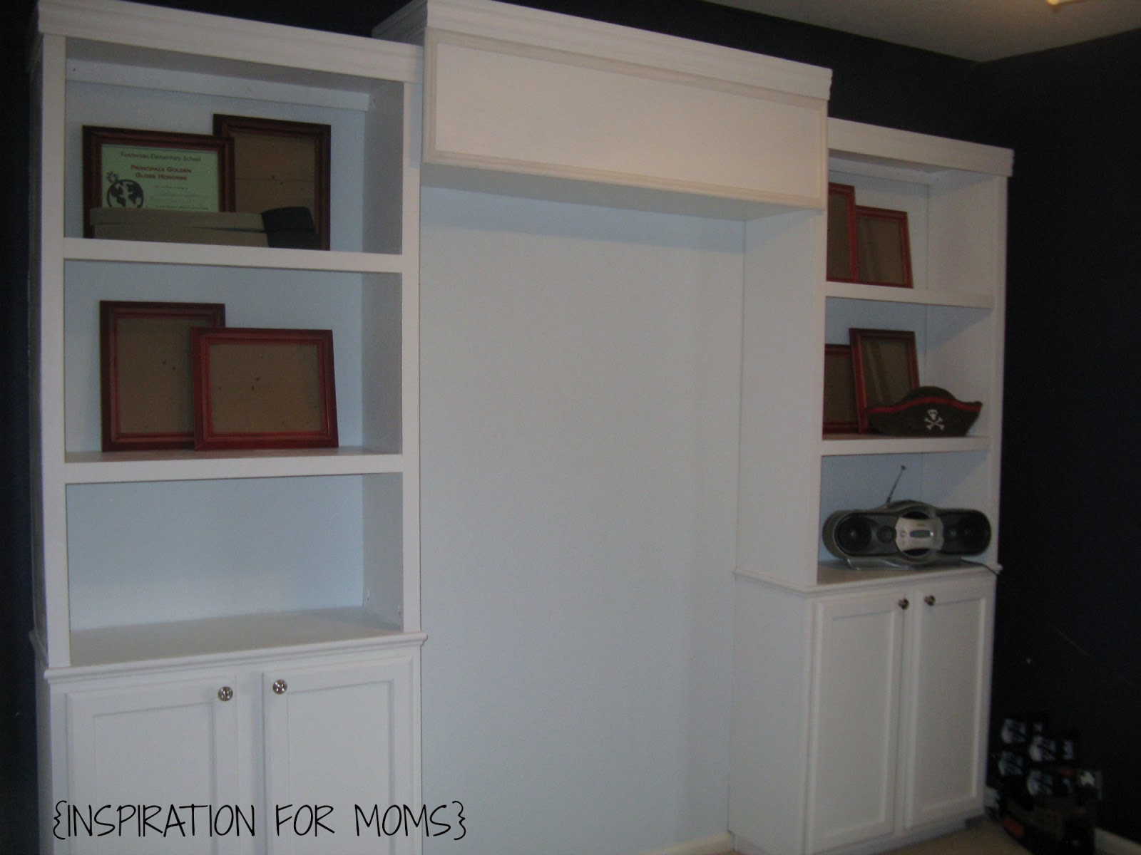 build your own built bookshelves