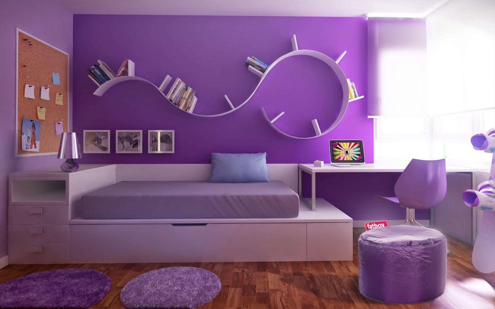 El mundo en colores Decoracion de interiores dormitorios ninas