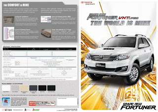 Brosur New Fortuner 2014