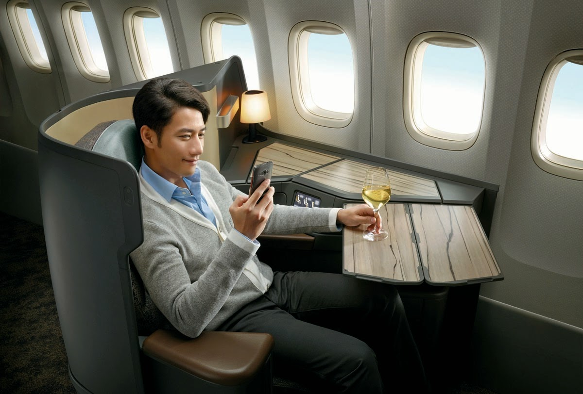 Premium Business Class Seats China Airlines