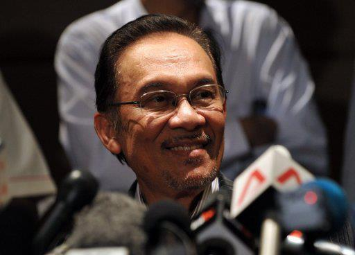 Ketua umum PKR Datuk Seri Anwar Ibrahim
