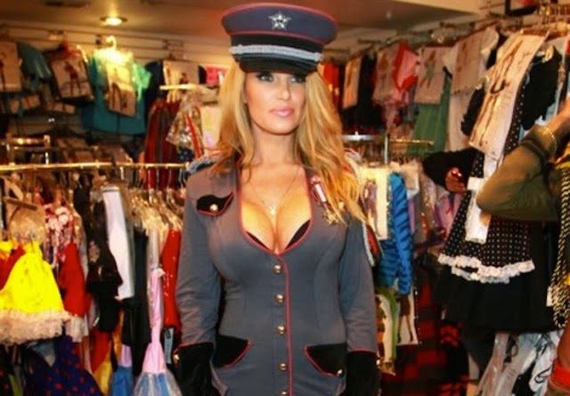 Russian Police Woman Costume