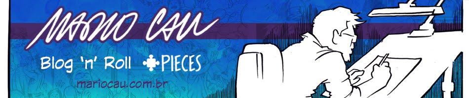 Mario Cau - Blog 'n' Roll - Ser Autor - História em Quadrinhos, Ilustração e Arte