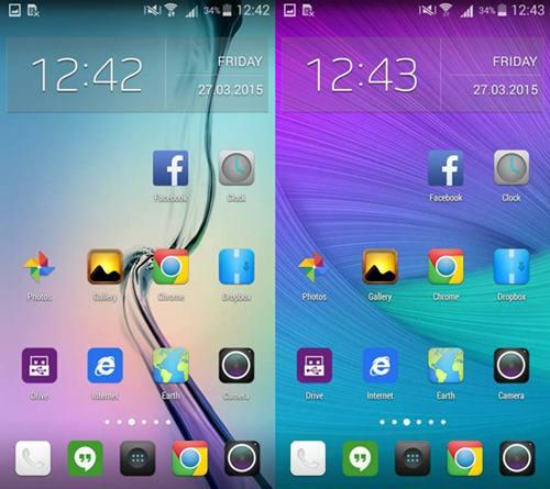 Instal Tema Samsung Galaxy S6 Di Hp Android