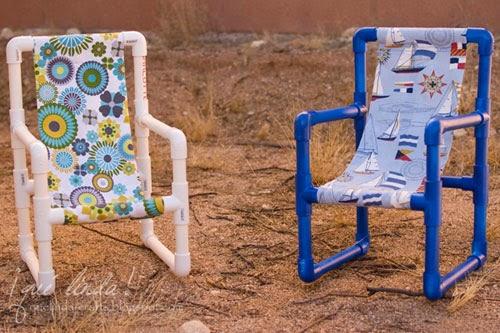Membuat Bangku Anak Dengan Pipa PVC