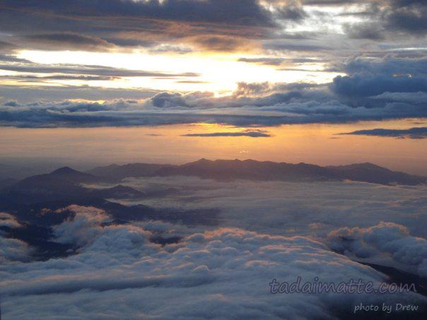 Climbing Mount Fuji. Drew's Photo
