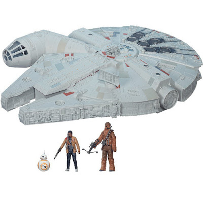 TOYS : JUGUETES - STAR WARS 7 : NERF  Halcón Milenario : Nave de batalla  Millennium Falcon : Battle Action El Despertar de la Fuerza - The Force Awakens Película Disney 2015 | Hasbro B3678 | A partir de 4 años Comprar en Amazon España & buy Amazon USA