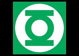 Green Lantern Corps Logo Vector